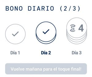 Bono Diario SweatCoin