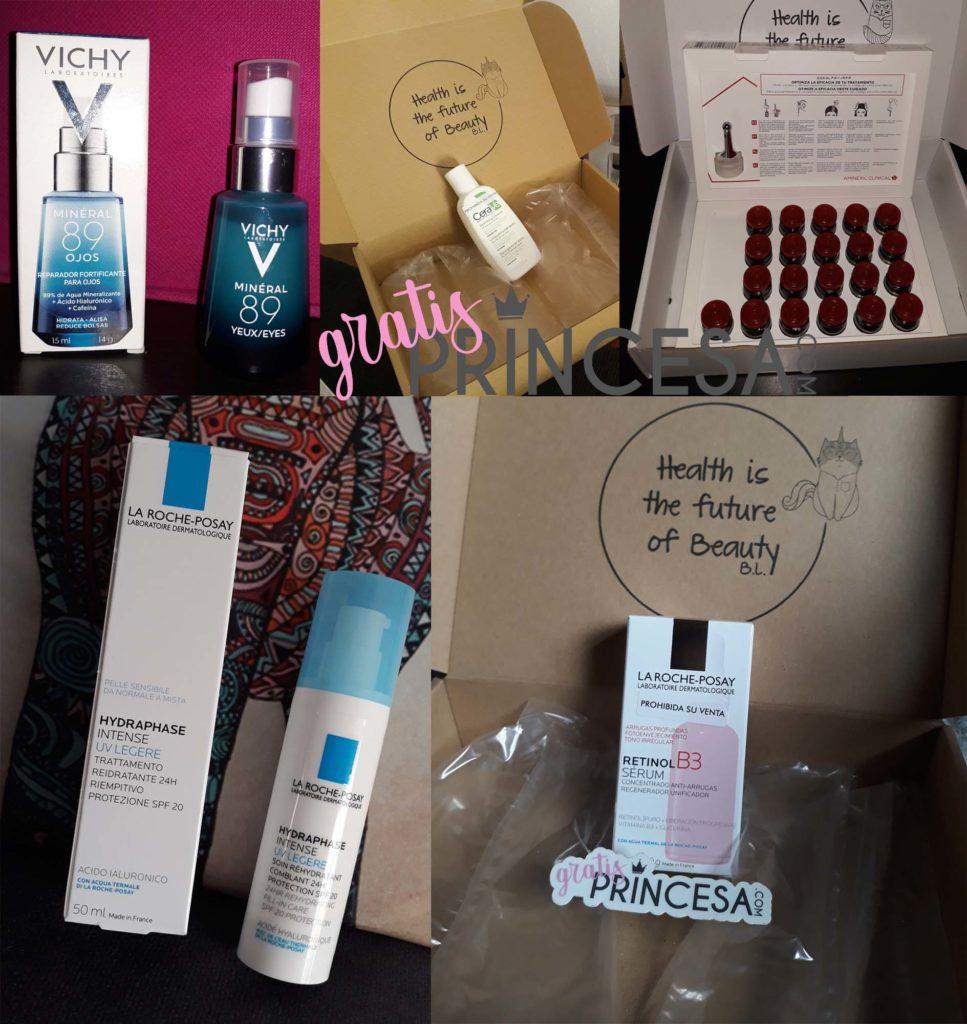 Aquí algunos de los muchos productos que hemos conseguido completamente gratis en el club.